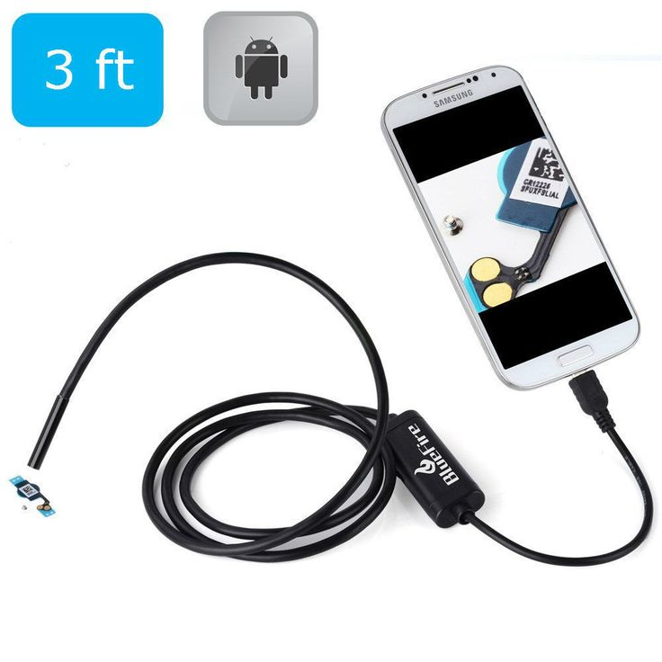 Pipe Inspection Camera USB Android Endoscope Video Sewer Drain Waterproof 3 ft #Pipe Inspection Camera #ebay