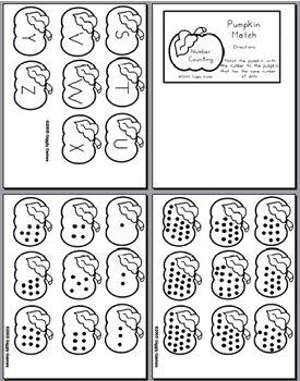 Giggly Games :: Pumpkins Theme File Folder Games 5-Pack