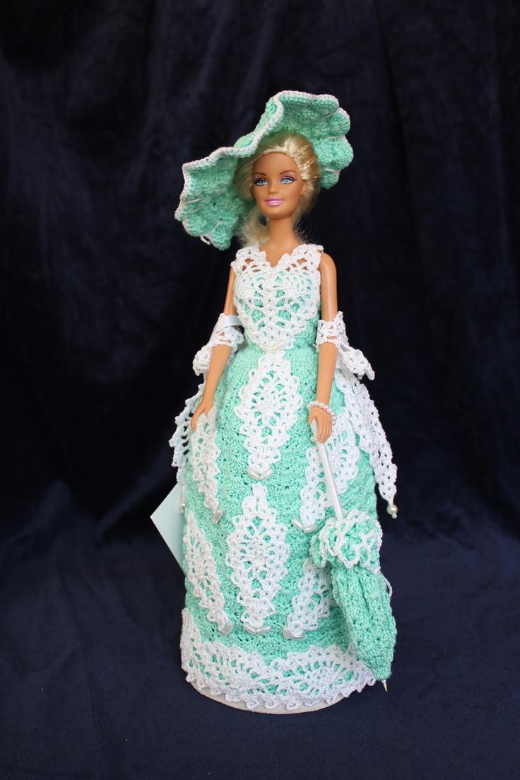 Tati - Watergreen  [handmade crochet]