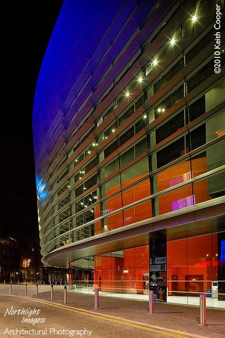 The Curve, at the heart of the cultural quarter. Great plays, musicals and night entertainment.