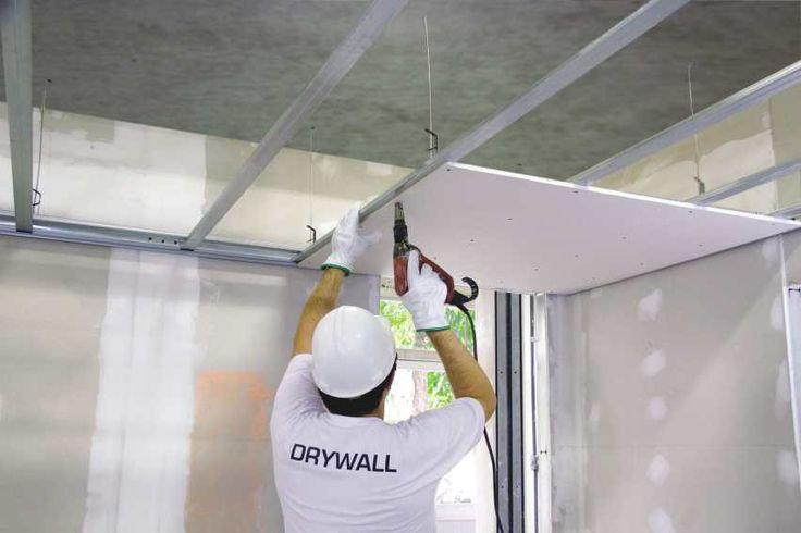 forro de drywall-gesso acartonado http://oazulejista.blogspot.com.br/2014/10/drywall-gesso-acartonado-uma-revolucao.html#axzz3G3rhxz00