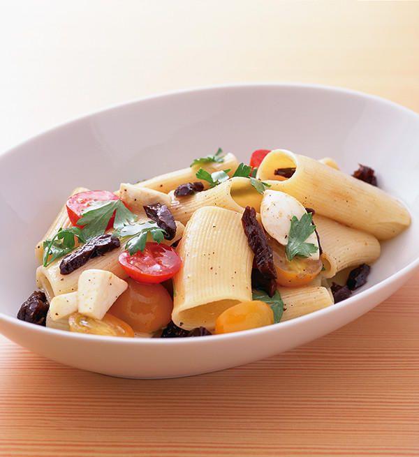 リガトーニのパスタサラダ|プルーン レシピ|カリフォルニア プルーン協会