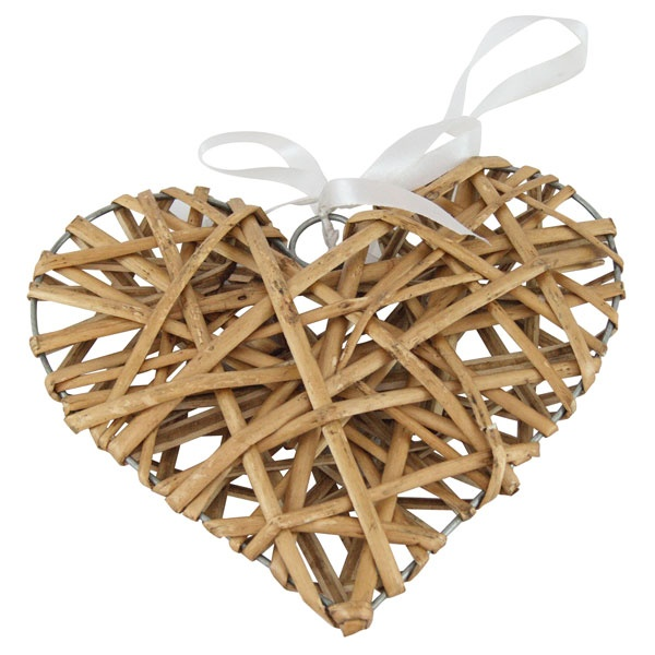 Ruby Collection Wicker Heart £1.99 #dunelm #heart #valentine #home