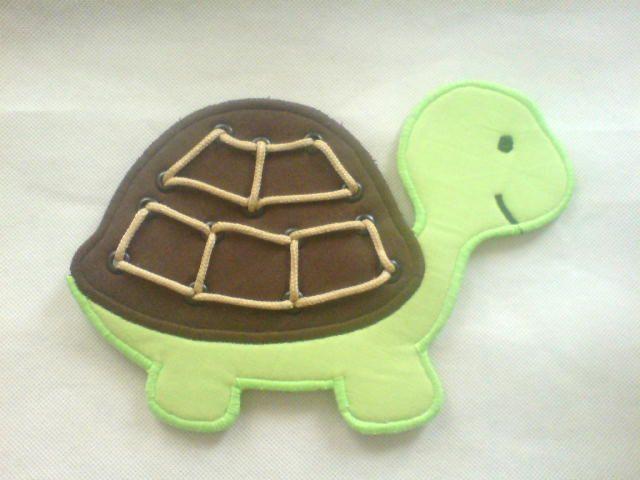 Fűzős játék-Teknős