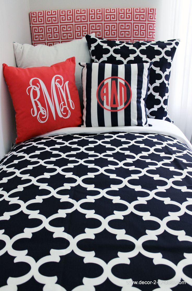 17 Best images about Sorority House Bedding and Decor on Pinterest