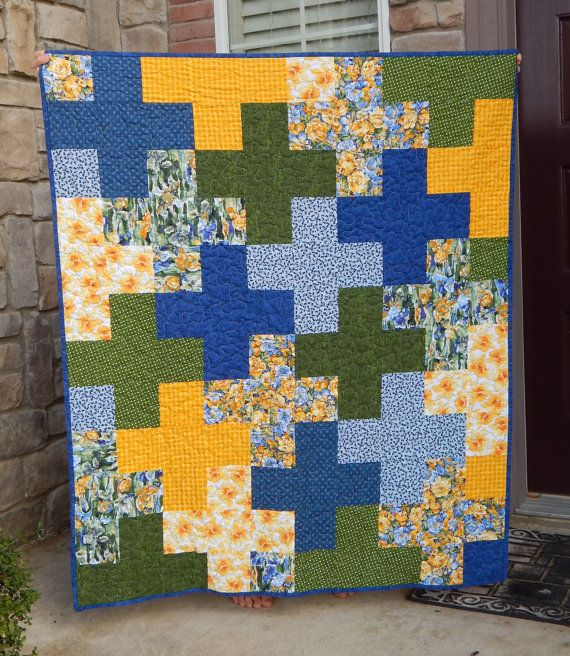 22 Best Plus Quilts Images On Pinterest Easy Quilts Quilt Block