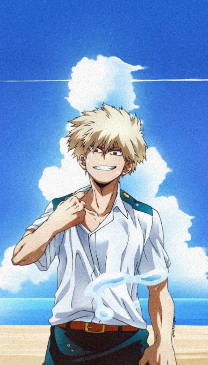 Bokunoheroacademia Bnha Myheroacademia Bakugoukatsuki Bakugou Summer Anime Animewallpaper Ani My Hero Academia Episodes Hero Wallpaper Cute Anime Guys