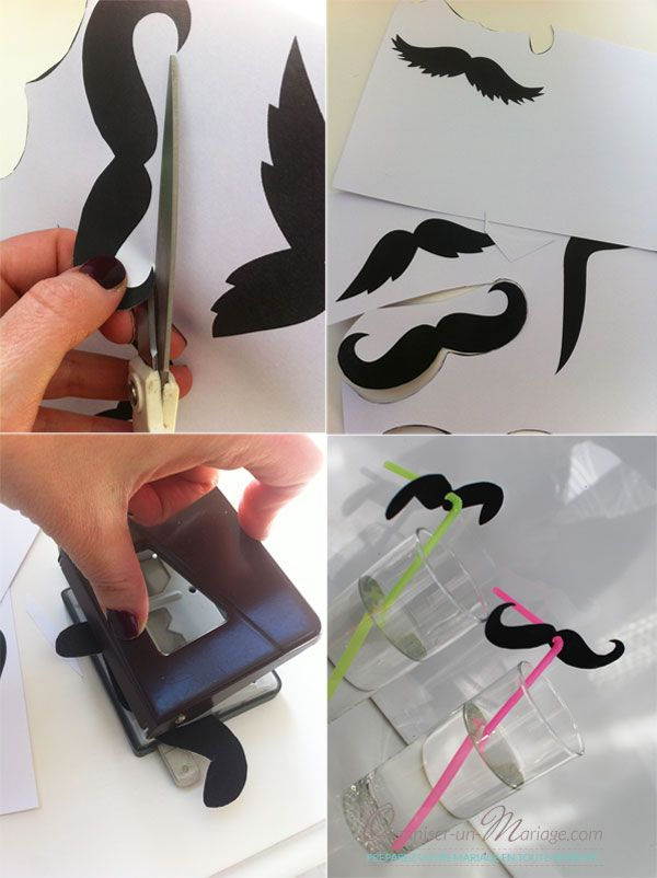 DIY : DE JOLIES PAILLES MOUSTACHUES !