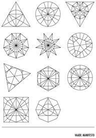 geometric shapes    :::: PINTEREST.COM christiancross ::::