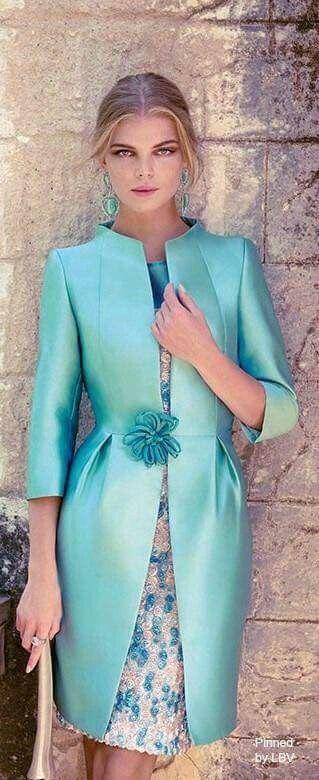 Elegancia en verde
