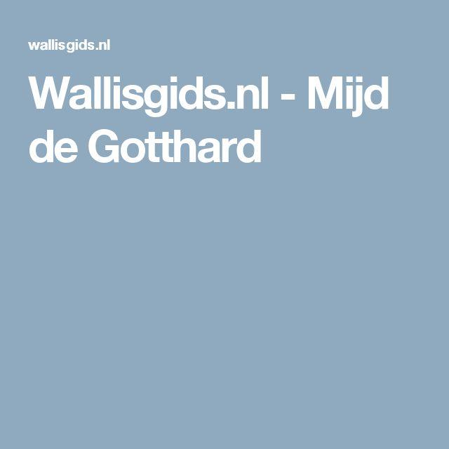 Wallisgids.nl - Mijd de Gotthard