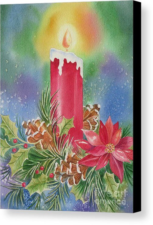 Tis The Season Canvas Print by Deborah Ronglien. All canvas prints are professionally printed, assembled, and shipped within 3 - 4 business days and delivered ready-to-hang on your wall. Choose from multiple print sizes, border colors, and canvas materials.