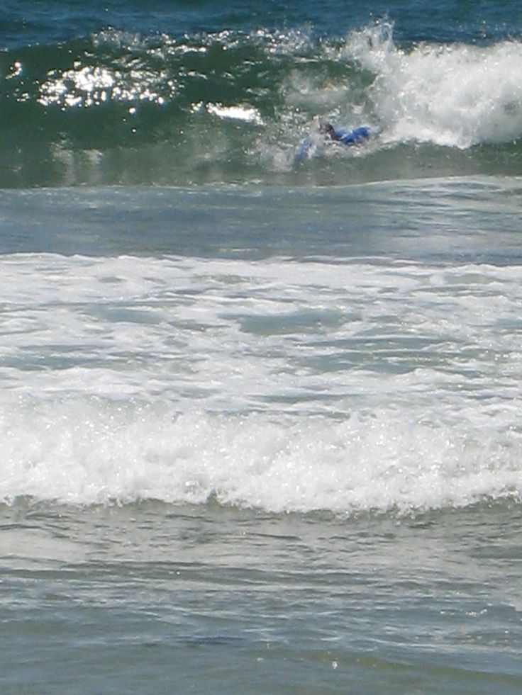 Wave Mallacoota Man In Surf Waves Ocean Surfing