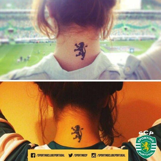 A Carolina D'Assis leva o leão rampante sempre consigo! E tu, tens alguma tatuagem 'leonina'? Partilha! #TattoSCP