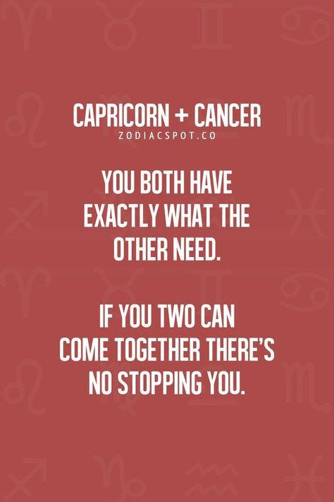 Are cancers and capricorns compatible