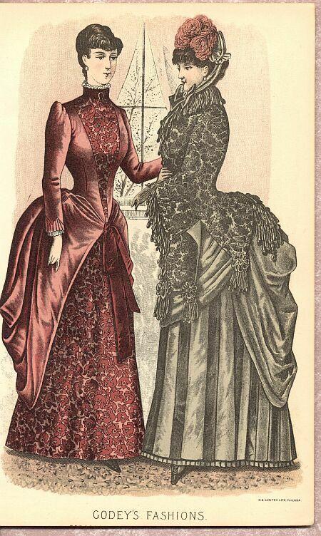 1870s womens fashion my vintage lookbook pinterest