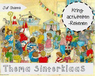 * Sinterklaas: Kring vele rekenactiviteiten!