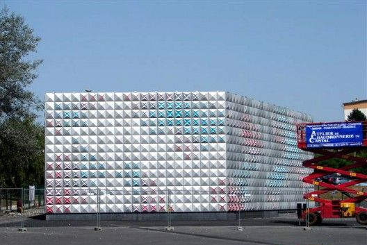 Techno-Prisme Depósito de Almacenamiento / Brisac Gonzalez (Aurillac, Francia) #architecture
