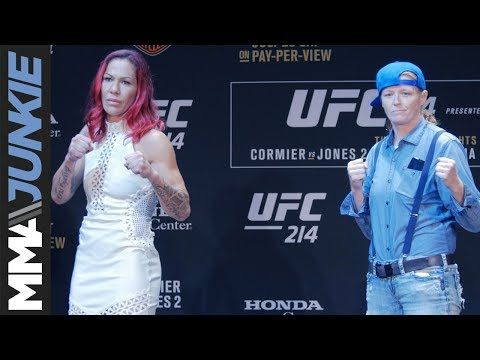 MMA Cristiane 'Cyborg' Justino, Tonya Evinger ready to shine, put on a show for UFC 214