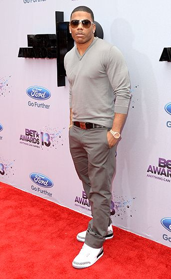 Nelly at the 2013 BET Awards