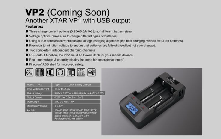HID Canada is proud to announce we are receiving a very limited number of the next generation VP2 chargers. Just like the revolutionary VP1, we have first crack at this product launch from XTAR. You've been invited the unique opportunity of ordering this fantastic bit of technology before anyone else has even heard of this device! Now shipping in limited quantites.  #hidcanada