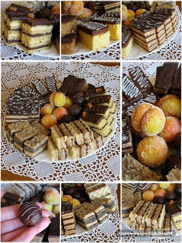 Slavski kolači u kolažu Naši đurđevdanski kolači... Kolači su naravno moje zaduženj...