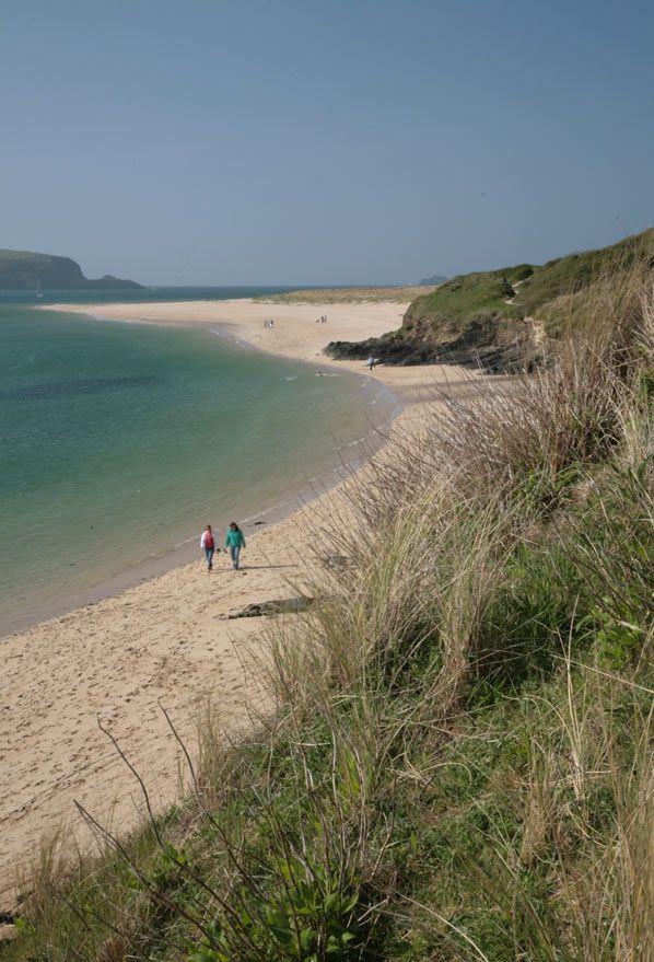 Rock Beach. Cornwall