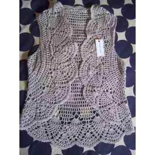 patrones de crochet para chalecos circulares | Tejidos Artesanales A Crochet: Chalecos - Boleros (Otros) a ARS 145 en ...