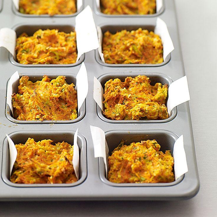 Quiche aux carottes sans croûte | Healthy Recipes
