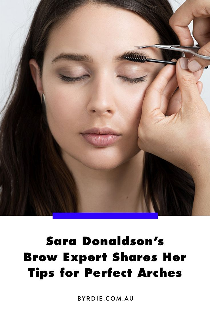 Harper and Harley's Sara Donaldson tips and tricks on trimming and grooming eyebrows