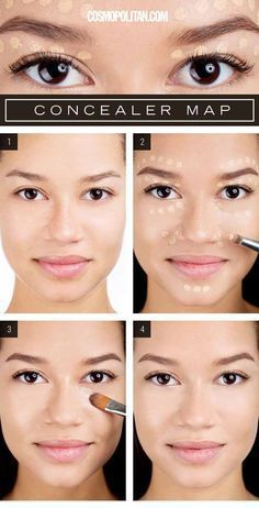 Makeup Tips and Tricks For Applying Concealer | How To Dab On Concealer For An Effortless Glow By Makeup Tutorials. http://makeuptutorials.com/makeup-tips-for-flawless-coverage/