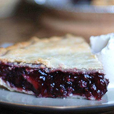 Riverbend Plantation's Saskatoon Pie - Delish.com