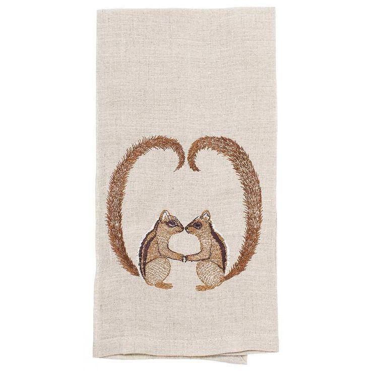 Chipmunk Love Tea Towel #tea-towel #Wholesale #WholesalerAppOnly