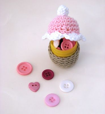 Lady Crochet: Spring Cupcakes