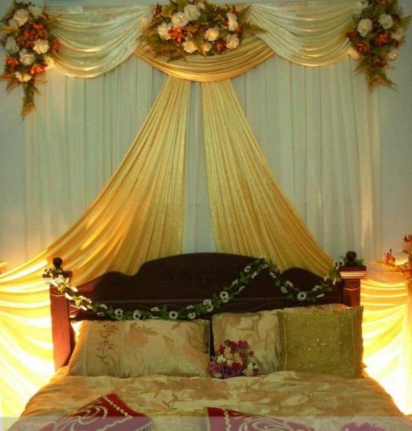 Bedroom Decoration For Wedding Night. 50 best wedding room decoration images on Pinterest