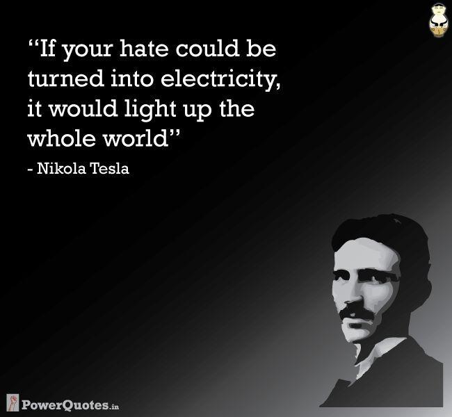Nikola Tesla Quotes On God