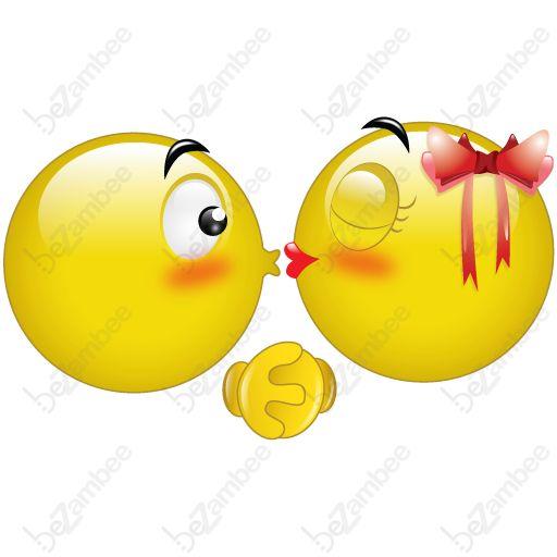 ♥SE♥ 53 KISSING SMILEYS | SMILEY'S & EMOJI'S | Pinterest ...