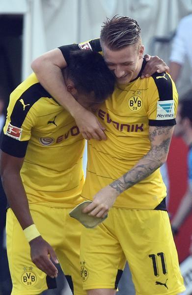 Bilder der Partie Ingolstadt gegen Dortmund.