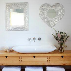 The Urchin Collective: Coastal Style Bathroom | Ikea