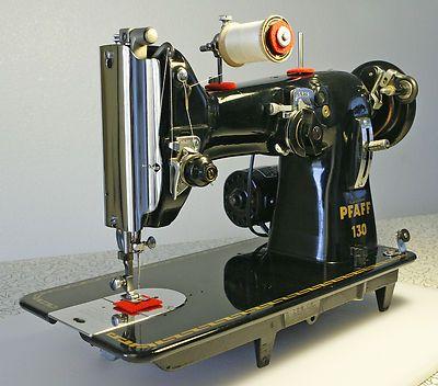 Beautiful sewing machine. Pfaff 130.