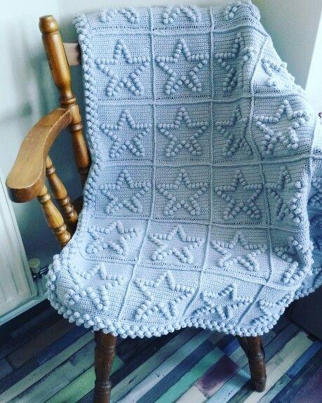 Star blanket for twin 2 #crochet #crochetblanket #babyblanket #stylecraftspecialdk #twinblankets #crochetstars #handmade #madewithlove