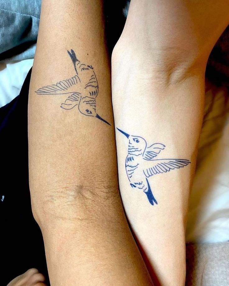 33 Small Unique Meaningful Couple Tattoos in 2020