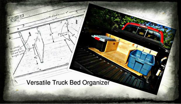 Picture of How to Build a Truck Bed Organizer