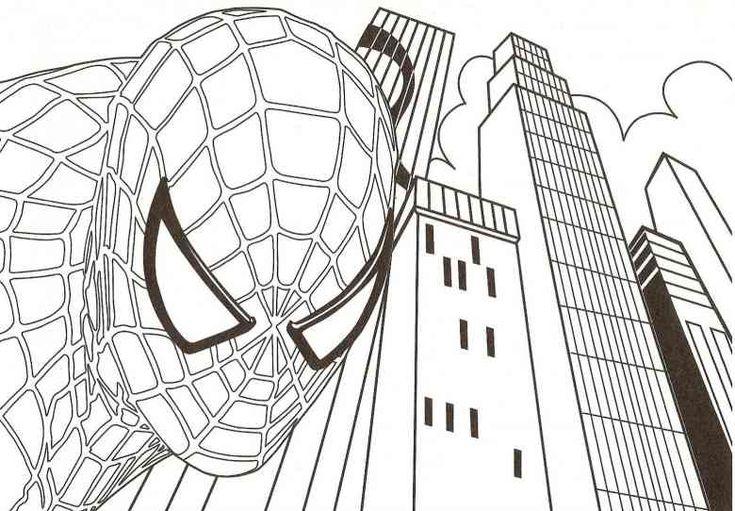 Malvorlagen Kostenlos Marvel Beautiful Ausmalbilder Von: 15 Best Spiderman Ausmalbilder Images On Pinterest
