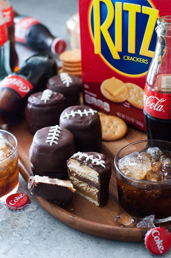 Finally! An easy recipe for game day treats. Can't get over how cute these snacks are, they'll be the center of attention, besides the game of course.