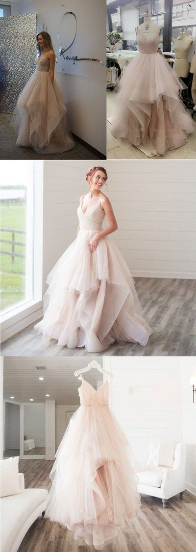 Shinning Tulle Ball Gown, Wedding Dresses, Tulle Ball Gowns LP80 by LovePromDresses