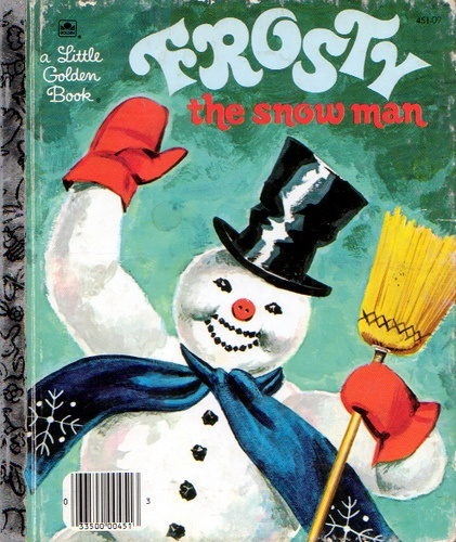 Frosty the Snowman, Illustrations by Corinne Malvern, 1950, Cover 1980's