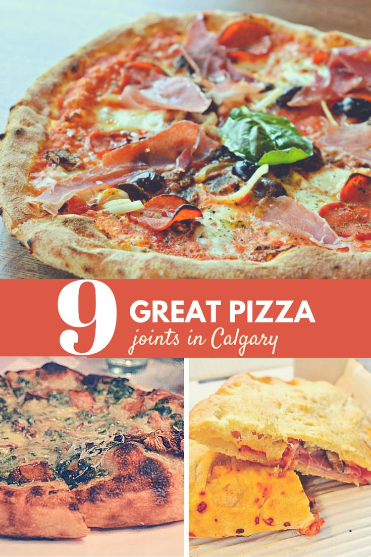 Pizza is a great pre- and post-event meal. Whether you like a casual slice or something more refined, you'll find your perfect pie in #yyc.