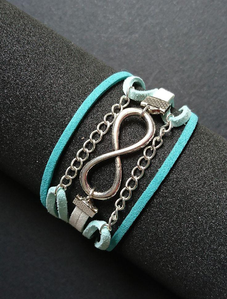 """Bracelet manchette """"Infiniment liée"""" : Bracelet par maddy-crea"""