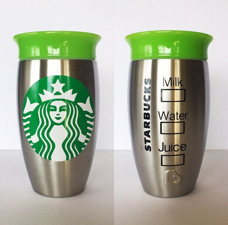 A personal favorite from my Etsy shop https://www.etsy.com/listing/508859356/starbucks-kids-stainless-cup-munchkin